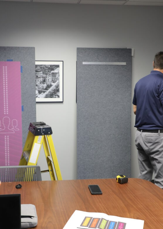 Experiential Graphics for NewGround St. Louis by 21-Point SignWorks