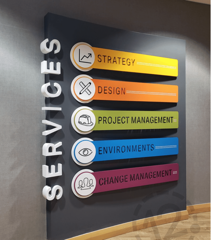 Past Project with NewGround St. Louis by 12-Point Signworks
