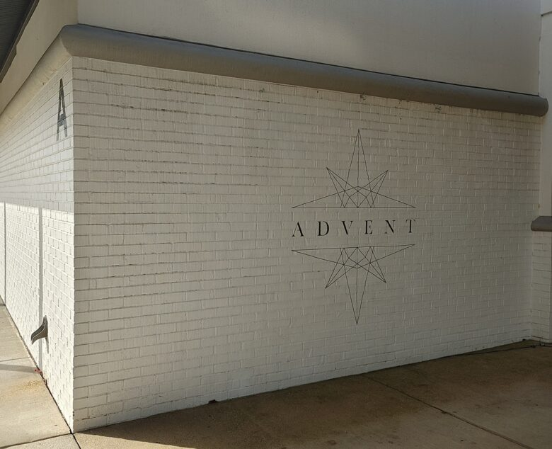 Exterior Wall Graphic for Church of the City by 12-Point SignWorks