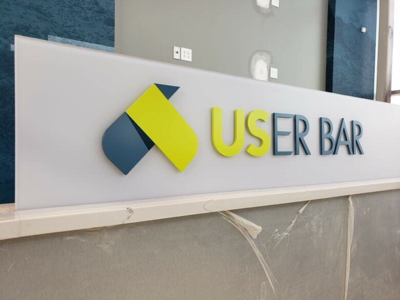 Dimensional Directional Sign For U.S. Eagle Federal Credit Union/ 12-Point SignWorks