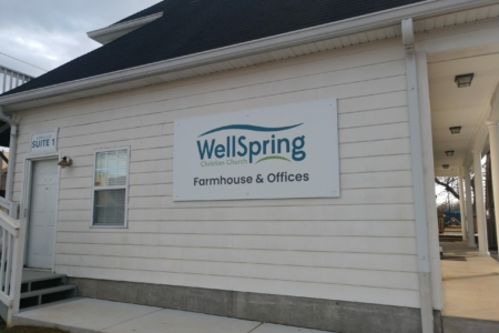 Branding & Directional Signage for WellSpring Christian Church In Spring Hill, TN/ 12-Point SignWorks