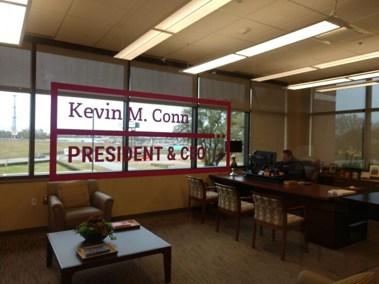 Window Graphics for Education First Federal Credit Union - NewGround