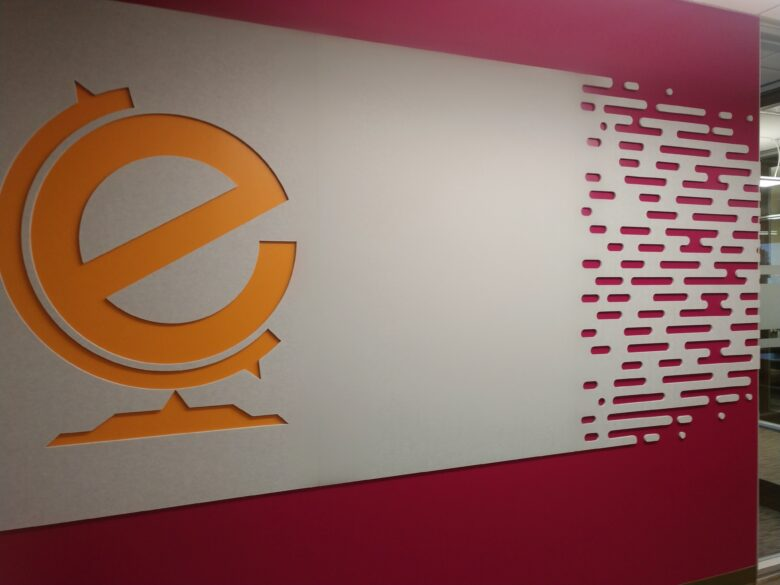 Acoustic Wall Display for Education First Federal Credit Union - NewGround