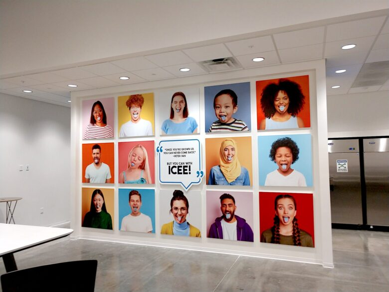 Architectural Display for ICEE Inc. Social Hub