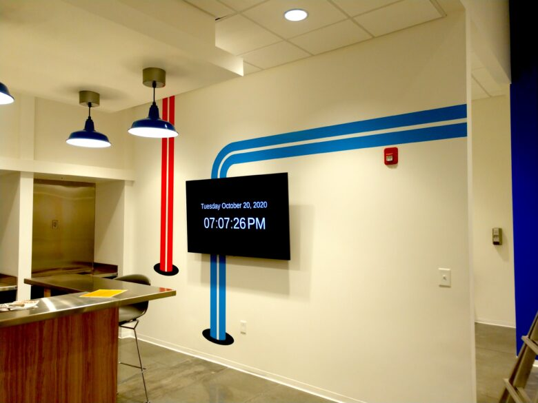 Wall Graphics - Experiential Graphics for ICEE Inc. Headquarters in LaVergne TN