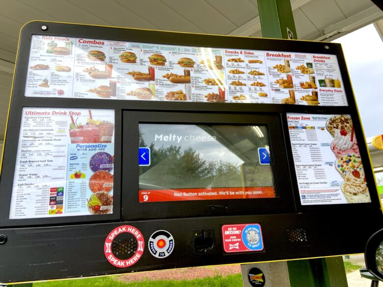 New Menu Board Decals for local Sonic stores in the Williamson County region