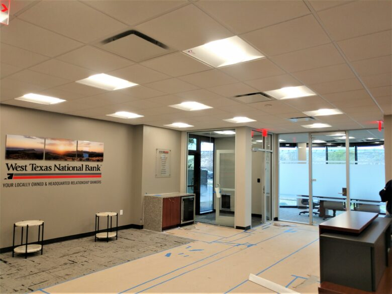 Custom Branding Graphics & More for West Texas National Bank in Odesa, TX/ 12-Point SigWorks
